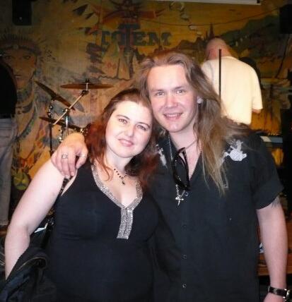 Beth Gatlin and Pekka Heino
